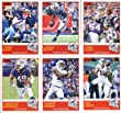 2019 Panini Score Football Veteran Buffalo Bills Team Set of 10 Cards: Josh Allen(#122), LeSean McCoy(#123), Chris Ivory(#124), Zay Jones(#125), Robert Foster(#126), Tremaine Edmunds(#127), Lorenzo Alexander(#128), Matt Milano(#129), Tre'Davious White(#13