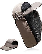L.A.Y メンズ & レディース メッシュ キャップ 日よけ 熱中症 サンシェード 帽子 釣り 登山 ランニング 2WAY キャップ