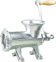 Manual Meat Grinder No. 32 Hand Blender, Silver