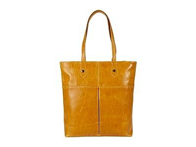 Frye Melissa Simple Zip Tote (Sunflower) Handbags