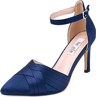 SheSole Women's Pointy Toe High Heels Stiletto Ankle...