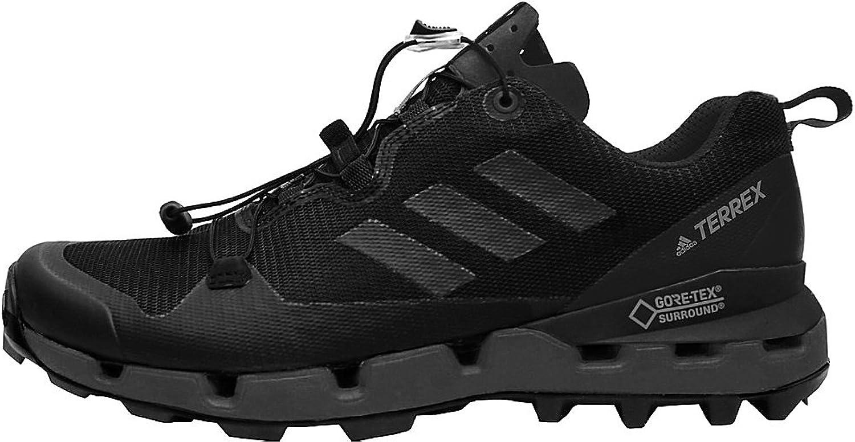 Adidas outdoor Mens Terrex Fast GTX-Surround schuhe (8.5 - schwarz schwarz grau Five Hi-Res  Rabatte und mehr