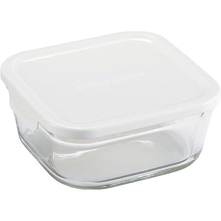 イワキ 保存容器 パック&レンジ 深型 M 1L ホワイト 冷凍 オーブン レンジ 可能 KN3247H-W