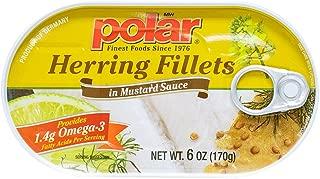 MW Polar Herring, Mustard Sauce, 6-Ounce (Pack of 9)