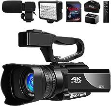 دوربین فیلمبرداری دوربین فیلمبرداری 4K Vlogging Camera for YouTube IR Night Vision 48MP 30FPS 30X ضبط دوربین بزرگنمایی دیجیتال با میکروفون