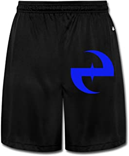 MGTER66 Men`s Evanescence Band Short Running Pants Black