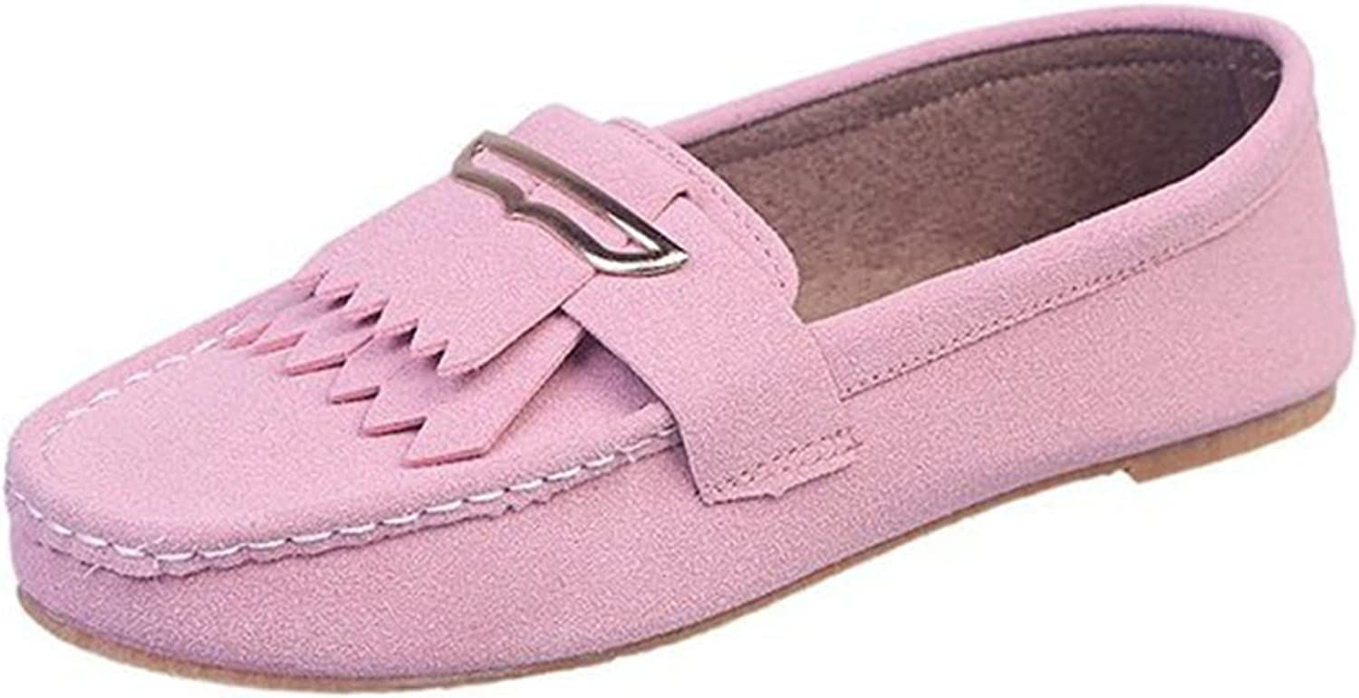 Womens cheap Loafers Work Shoes Max 53% OFF Flats Street Outdoor Oxf Walking Daily
