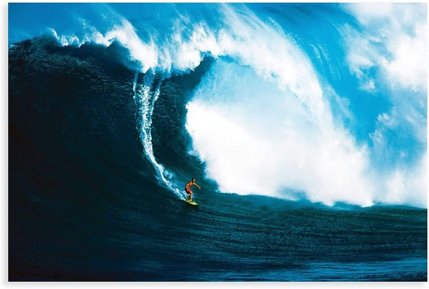 Super intense SALE Surfing Posters Let's Fees free!! Go Extrem Waves The Poster