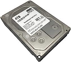 """MaxDigitalData 4TB 64MB Cache 7200PM SATA 6.0Gb/s 3.5"""" Internal Surveillance CCTV DVR Hard Drive (MD4000GSA6472DVR) - w/ 2..."""