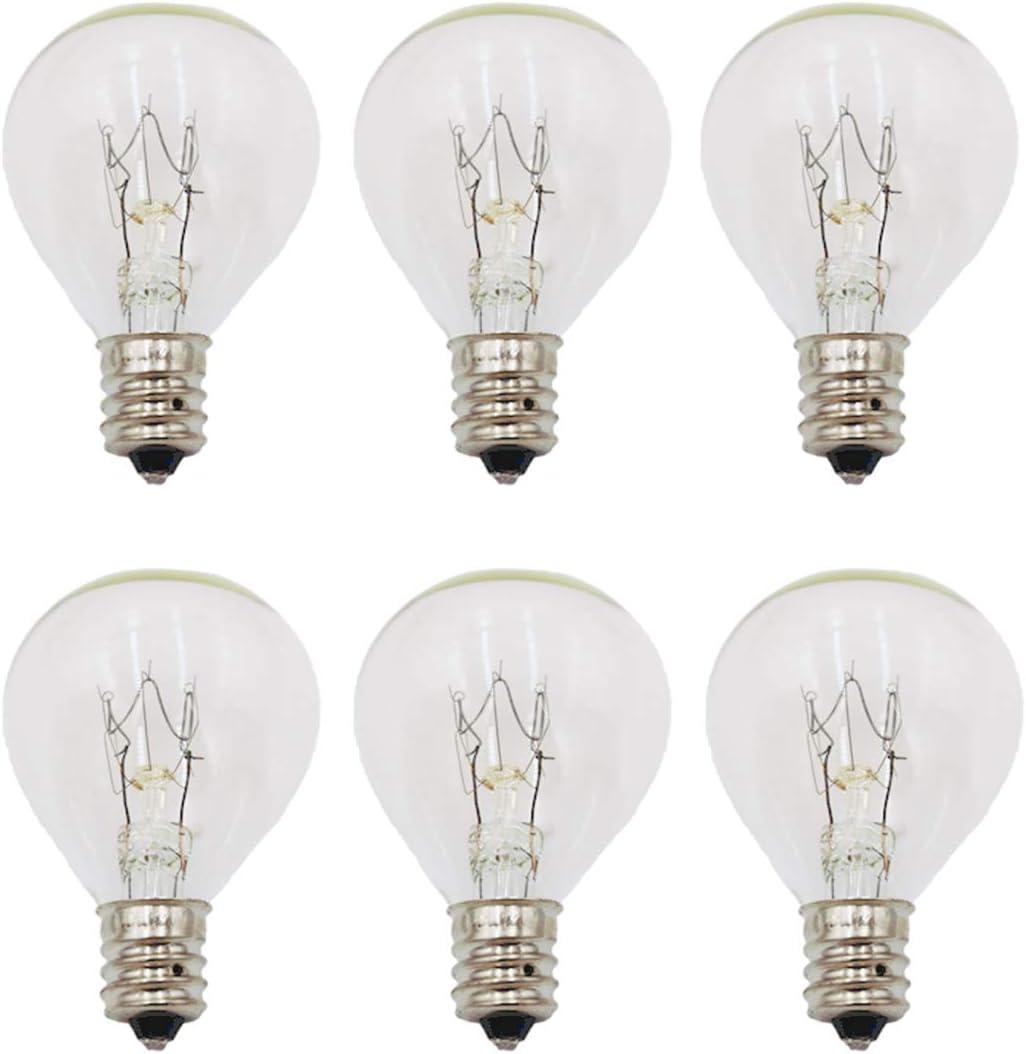 6-Pack 20 Watt Wax depot Melt Warmer Scentsy Dealing full price reduction Light Bulbs for Mid-Size