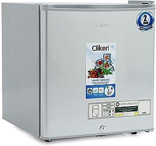 Clikon – 48 Liter Mini Refrigerator / Fridge, Single Door, Grey - CK6002
