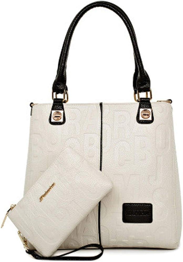 Deerword, borsa da donna, a mano/tracolla, in ecopelle LUMIN-EU5706-02