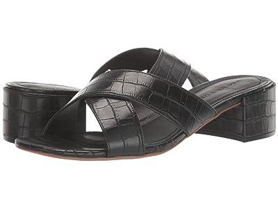 Who What Wear Ornella (Black Croco) Women