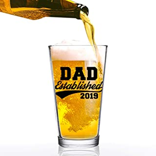 Daft /& Co DAD Man Myth Legend Beer Pint Glass /& Fathers Day Gift Box Black