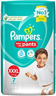 Pampers New Extra Extra Extra Large Size Diapers Pants,7 Count