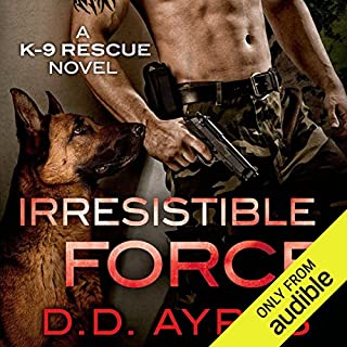 Irresistible Force audiobook cover art