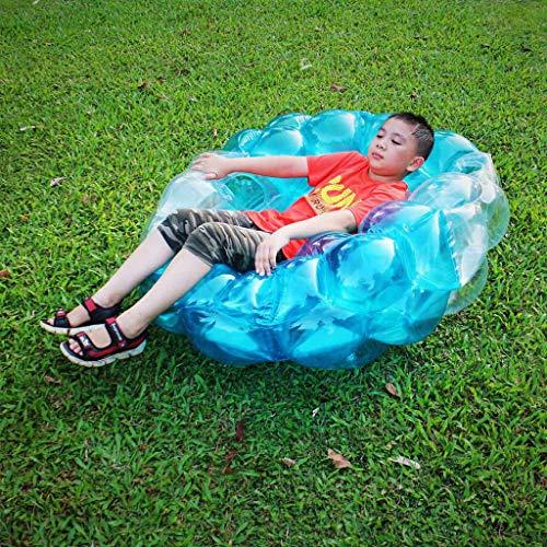 Webla Bola de colisión inflable al aire libre Juguete de bola de parachoques inflable (rojo)
