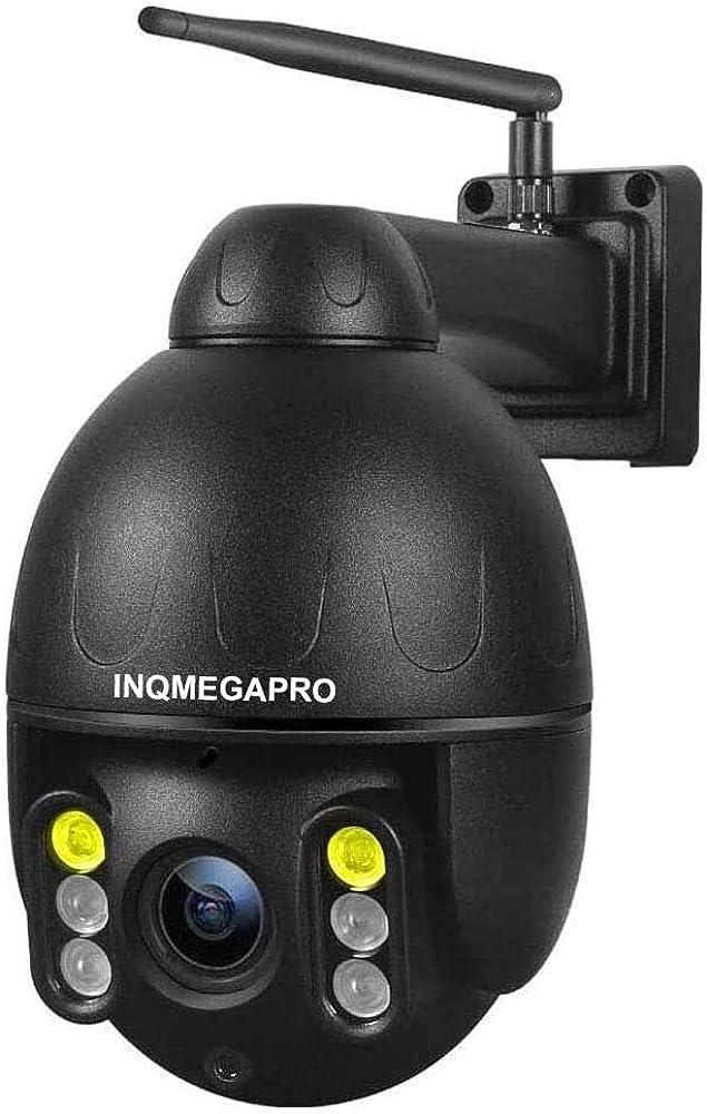 Nqmegapro,telecamera wifi esterna, ip66 impermeabile videocamera di sicurezza
