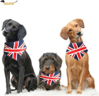 dog bandanas union jack