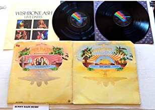 Wishbone Ash Live Dates - MCA Records 1973 - A Used Double Vinyl LP Record - 1973 Pressing MCA2-8006 With Concert Tour Booklet-Insert - Warrior - Phoenix - Blowin Free - Ballad Of The Beacon