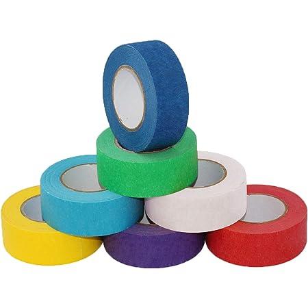 18 mm x 40 m /– Confezione da 10 unit/à verniciatura ottima adesione - Nastro Adesivo di Carta per mascheratura Non lascia residui