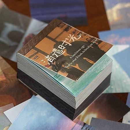 400 Pièces Papier de Fond Décoratif pour Scrapbooking, Scrapbooking Matériel Papier Nature Décoratif Papier Mixtes DIY Embellissement Fournitures pour Scrapbooking Et de L' Artisanat