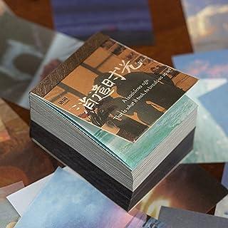 400 Pièces Papier de Fond Décoratif pour Scrapbooking, Scrapbooking Matériel Papier Nature Décoratif Papier Mixtes DIY Emb...