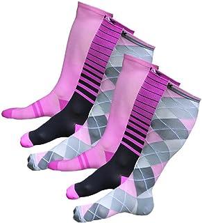 NAK Fitness Graduated Compression Socks (Men and Women 1 Pair) Best for Running, Nurses