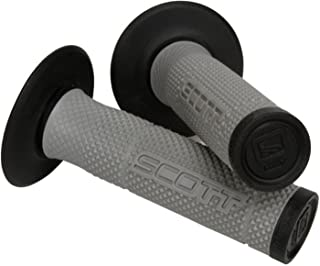 Black Gray Scott Sx 2 Handlebar Hand Grips and Free Sticker Fits Honda Cr80 Cr85 Cr125 Cr250 Cr500 Crf250 Crf450 Crf150 Crf230 Crf100 Crf80 Crf70 Xr80 Xr100 Xr200 Xr250 Xr400 Xr600 Xr650 1981-2014