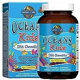 Garden Of Life Oceans Kids Omega-3 DHA 120 Cápsulas Blandas, Cal Baya 240 g