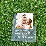 SAGI Group Targa Spotify Personalizzata con Base Foto Nomi e Canzoni Stampa su Plexiglas targhetta...