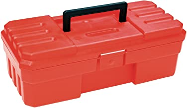 Akro-Mils 12-Inch ProBox Plastic Hobby or Tool Storage Box, Red, 09912