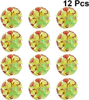 WINOMO キュウバンボール 吸盤ボール おもちゃ 子供 親子 遊び 12個セット
