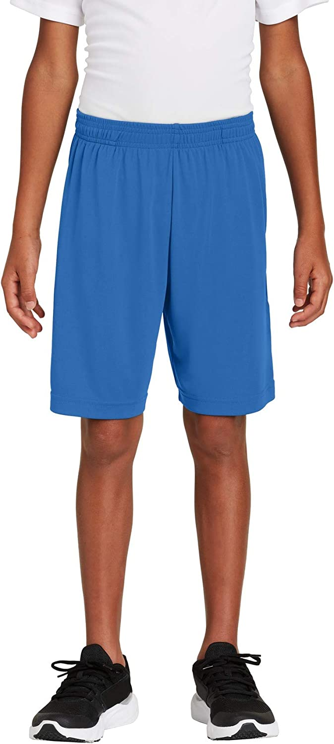 SPORT-TEK Youth PosiCharge Competitor Pocketed Short F20