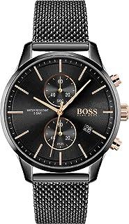 Hugo Boss Quartz Montre avec Bracelet en Acier Inoxydable 1513811