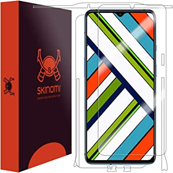 Skinomi Full Body Skin Protector Compatible with OnePlus 7T (Screen Protector + Back Cover) TechSkin Full Coverage Clear HD Film