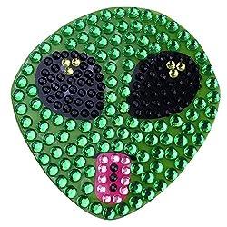 Alien 1-single Crystal Rhinestone Sticker