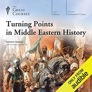 Turning Points in Middle Eastern History cover art