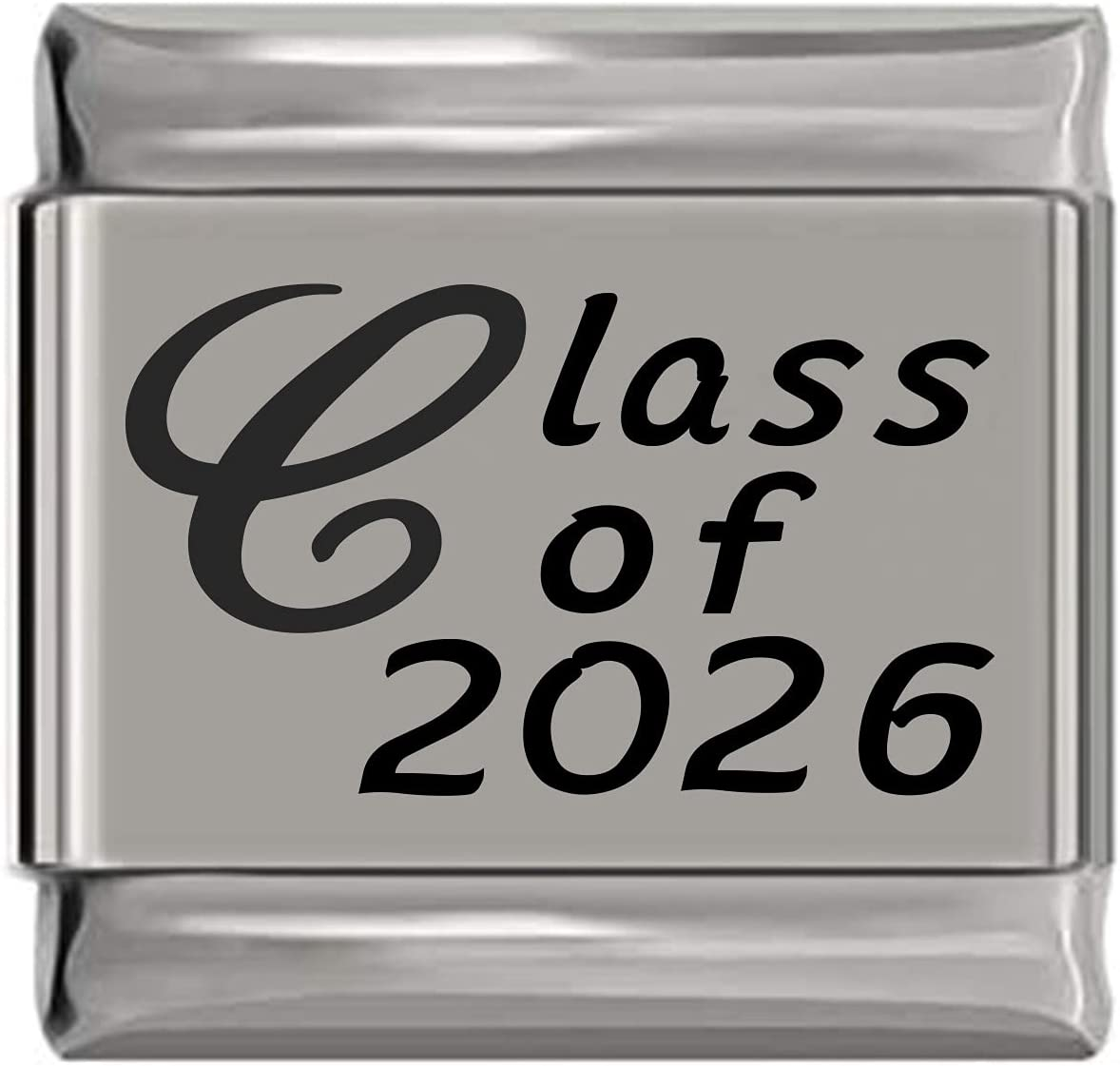 Class In a popularity Trust of 2026 Laser Italian Charm Engraved