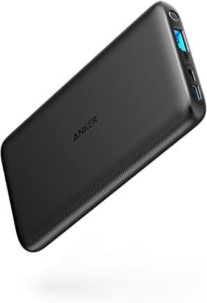 Anker PowerCore Lite, 10000 mAh power bank, powerful external battery, slim and compact for iPhone XS Max/XR/XS/X / 8 / 8Plus / 7 / 6s / 6Plus, iPad, Samsung Galaxy and many more