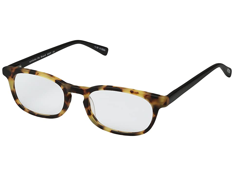 eyebobs On Board (Tokyo Torte/Black) Reading Glasses Sunglasses