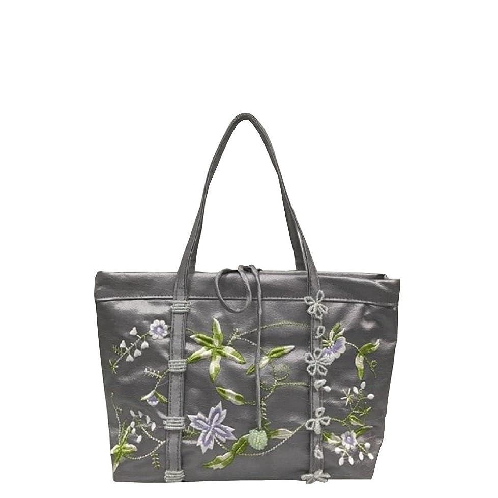 ペストリー生命体ブーストベトナムバッグ 刺繍 ビーズ ハンドバッグ 手提げ 鞄 両面刺繍 ベトナム雑貨