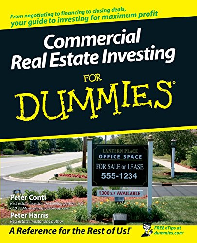 Compare Textbook Prices for Commercial Real Estate Investing For Dummies 1 Edition ISBN 9780470174913 by Conti, Peter,Harris, Peter