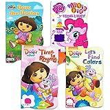 Nickelodeon Dora The Explorer Baby Toddler Board Books - Set of Four