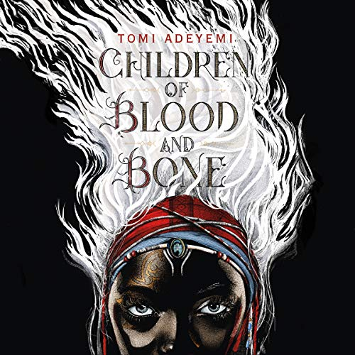 Children of Blood and Bone                   By:                                                                                                                                 Tomi Adeyemi                               Narrated by:                                                                                                                                 Bahni Turpin                      Length: 17 hrs and 44 mins     9,382 ratings     Overall 4.7