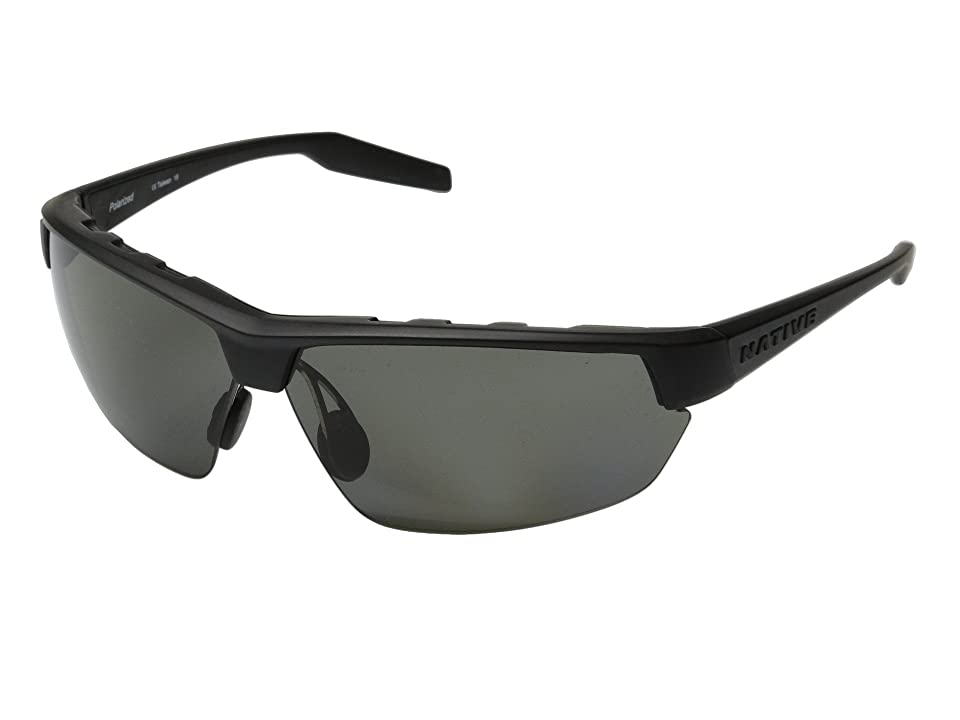 Native Eyewear Hardtop Ultra (Asphalt/Gray) Sport Sunglasses
