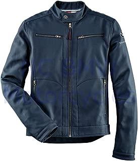 BMW Genuine Logo Softshell Men Jacket Blue 2XL XXL 2X-Large