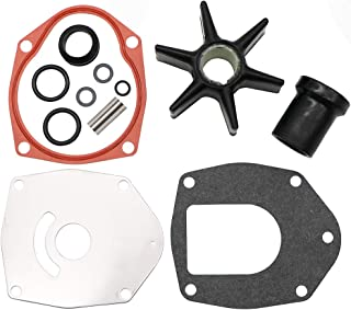 KIPA Impeller Water Pump Repair Kit for Chrysler Force Honda MerCruiser Mariner Mercury Marine Outboard Engines, Replace for Sierra 18-3214 47-43026Q06
