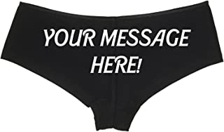 panties with messages