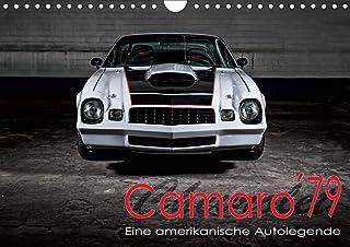 Chevrolet Camaro ´79 (Wandkalender 2021 DIN A4 quer): Chevrolet Camaro ´79 (Monatskalender, 14 Seiten )